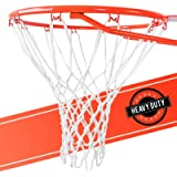 Ultra Sporting Goods Heavy Duty Basketball Net Replacement - All Weather Anti Whip, Fits Standard Indoor or Outdoor Rims…