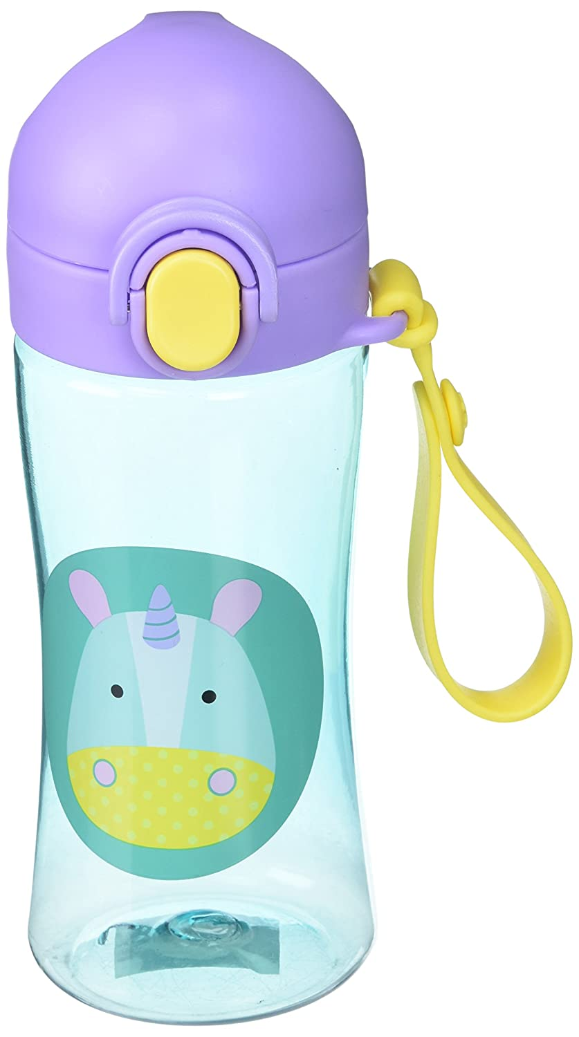 Skip Hop Zoo Lock-Top Sports Bottle - Unicorn, Multi 252631