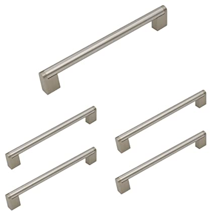 Homdiy Brushed Nickel Cabinet Pulls 7 1 2 Inch Kitchen Cabinet