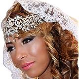 Crown, Tiara, BELLA BRIDAL Vintage Crystal Diamond Bride Bridal Wedding Hair Head Band Wear Rhinestone Jewelry Headdress…