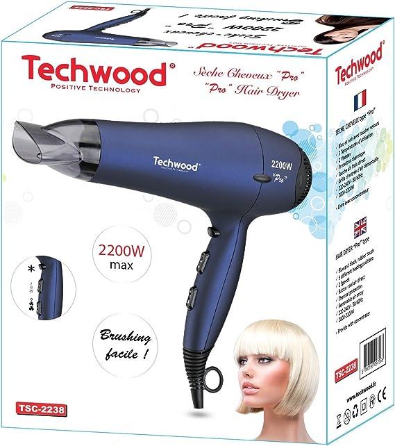 Techwood TSC 2238 Sèche Cheveux Pro 2200 W