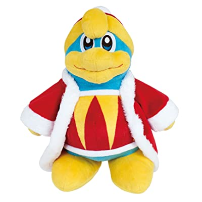 "Sanei Kirby Adventure Series All Star Collection 10"" King Dedede Plush: Toys & Games"