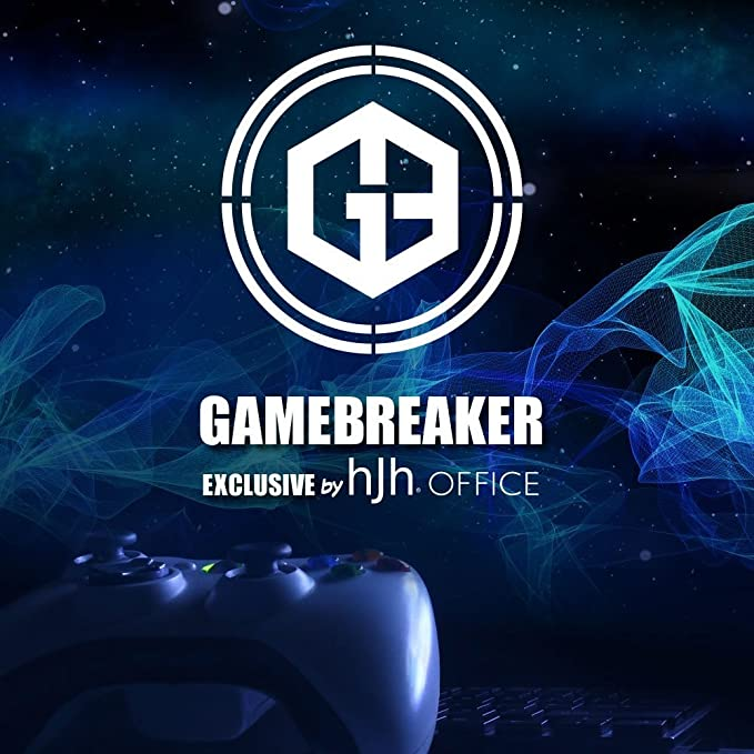 hjh OFFICE 734100 silla gaming GAMEBREAKER VR 12 piel sintética negro silla racing oficina: Amazon.es: Hogar