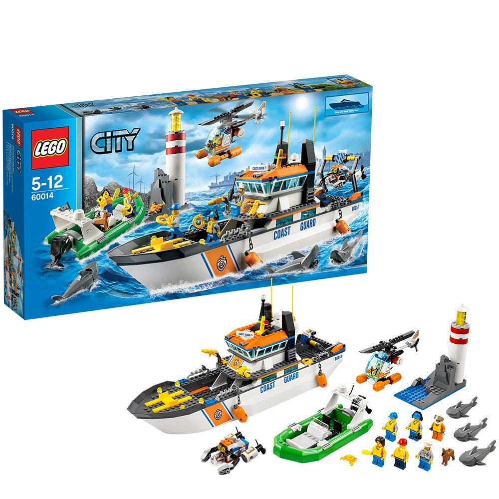 LEGO City Coast Guard 60014: Coast Guard Patrol: LEGO: Amazon.co.uk: Toys &  Games