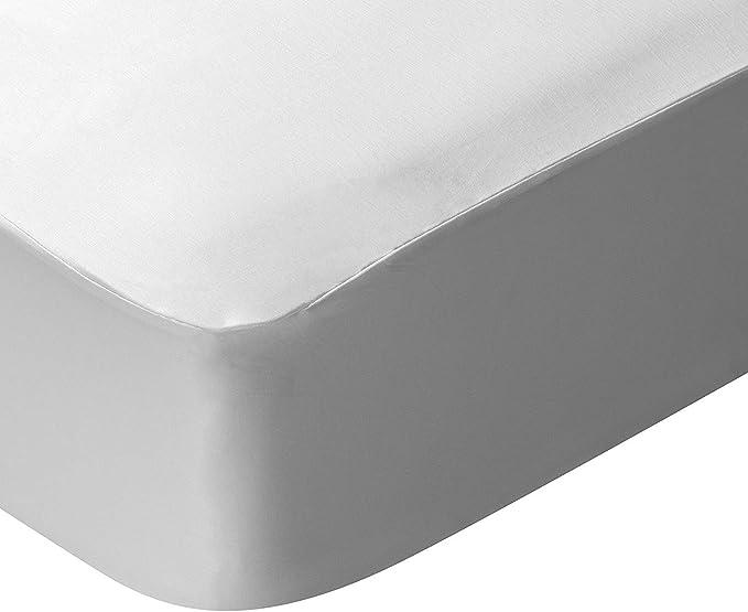Imagen dePikolin Home RF211 Protector de colchón Lyocell, híper-transpirable e impermeable, Blanco, Cama 180 - 180 x 200 cm