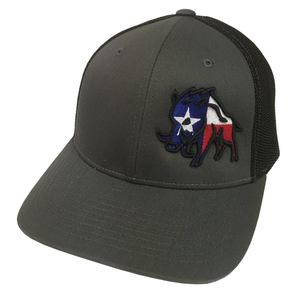 Sniper Pig Brand Texas Pig Black S/M Flexfit Mesh Hat - SPH801 by Sniper Pig (Image #1)