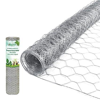 Amazon.com: Malla de alambre soldado galvanizado por ...