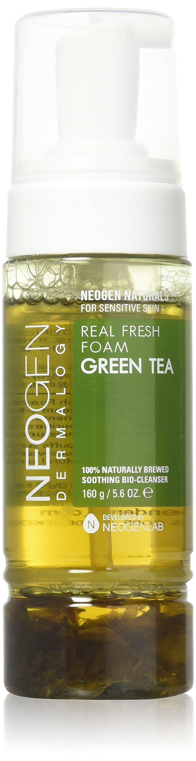 NEOGEN DERMALOGY REAL FRESH FOAM CLEANSER GREEN TEA 5.6 oz / 160g by NEOGEN DERMALOGY