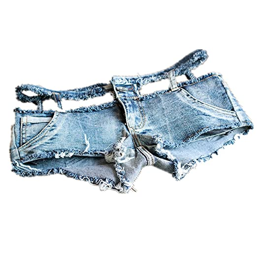 0fc1c22a884a NW Women's Low Waist Sexy Denim Short Hot Pants Sexy Mini Jeans Shorts  (Small)