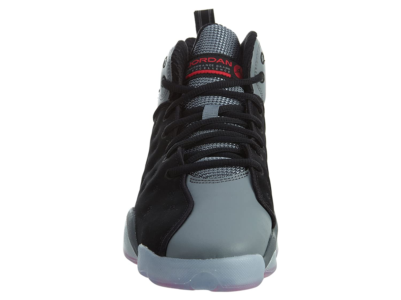 jordan jumpman équipe ii prem bg filles fashion baskets cool 861435-014_6y - Noir  / infrarouge 23 cool baskets Gris  infrarouge 23 9837c1