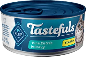 Blue Buffalo Tastefuls Natural Flaked Wet Cat Food