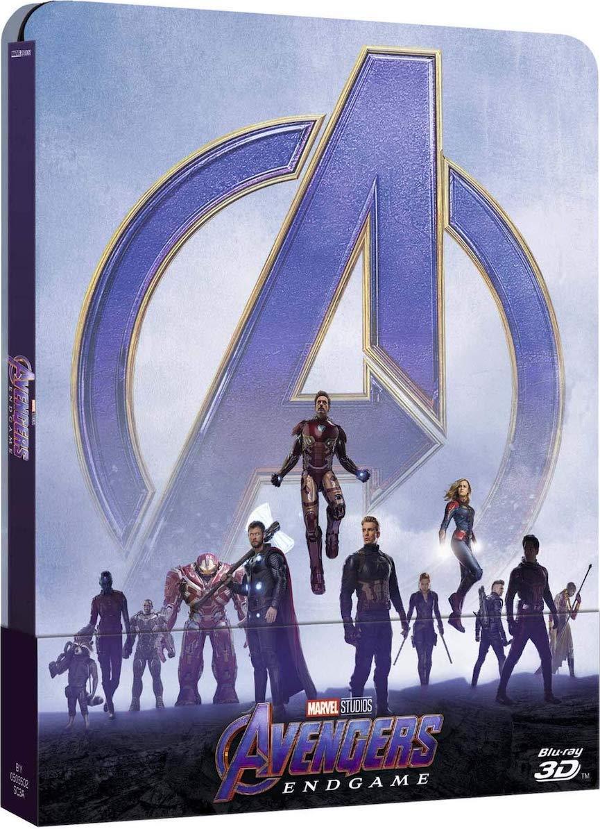 avengers endgame steelbook 3d et 2d 2019: Amazon.es: Cine y Series TV