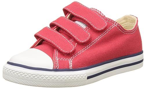 Victoria Zapato Basket Velcros, Zapatillas Unisex Niños, Rojo, 34 EU: Amazon.es: Zapatos y complementos