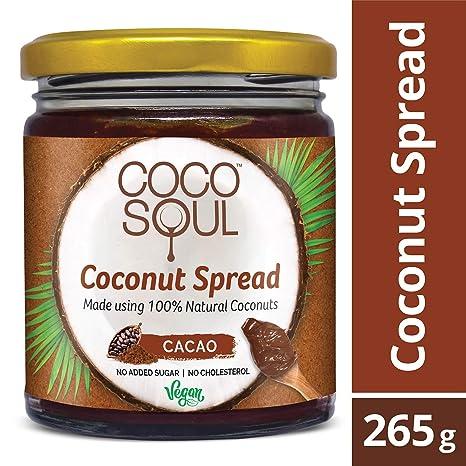 Coco Soul Coconut Spread, Cacao, 265g
