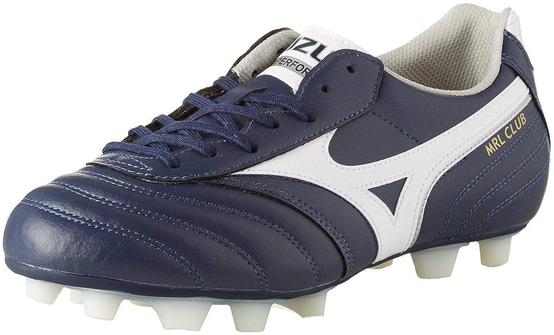 Mizuno MRL Club MD Football Stiefel Peacoat-Weiß-Silver
