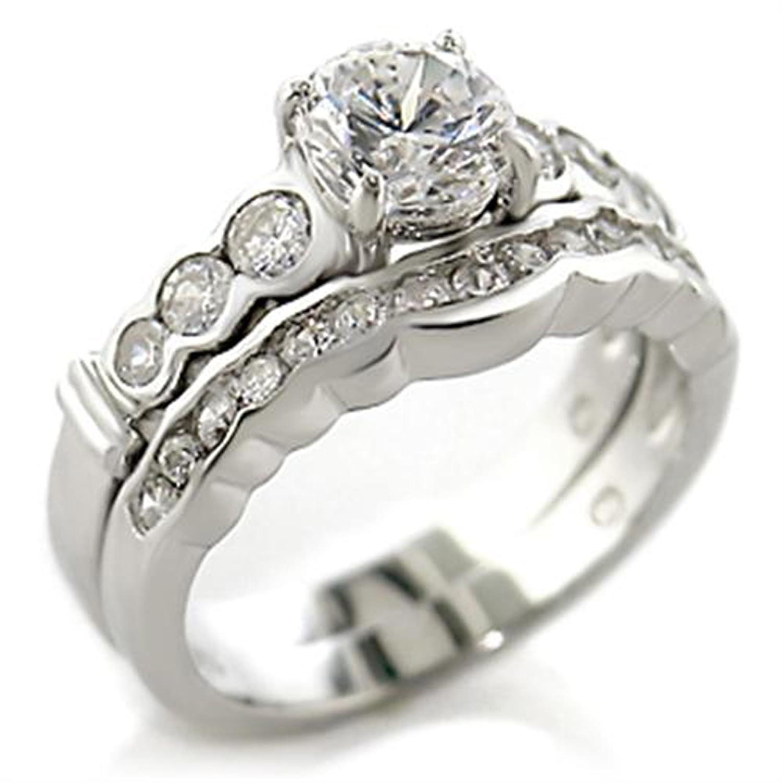 Amazon Beautiful Round Cut Lab Created Russian Sim Diamond Wedding Ring Band 5x018 Jewelry: Russian Diamond Wedding Ring At Websimilar.org