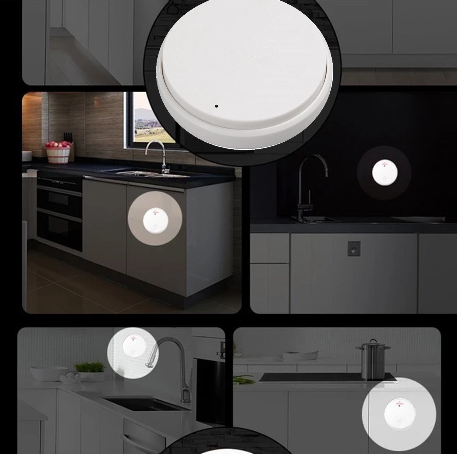 Garbage Disposal Wireless Switch Kit No Battery Wiring Self A To Powered Button For Counter Top