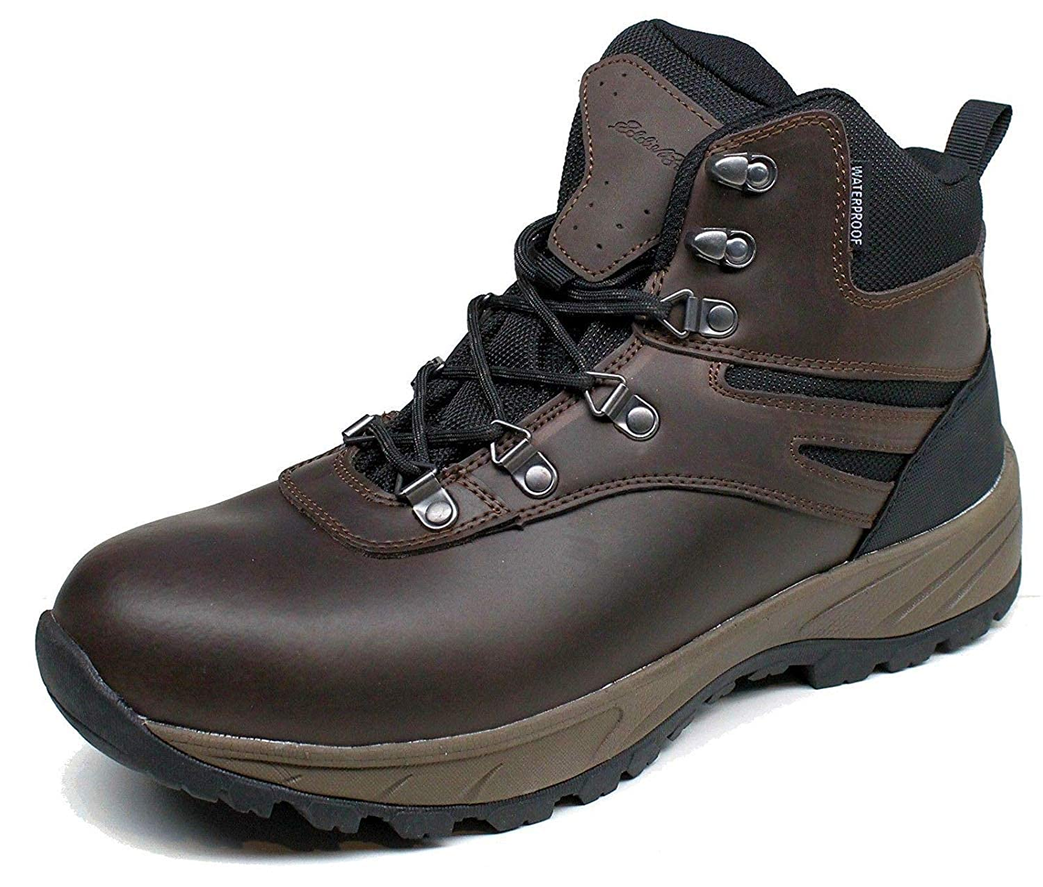 588cb1d6e38 Eddie-Bauer-Brad-Leather Upper-100% waterproof hiking boots( Style Brad),  size 10