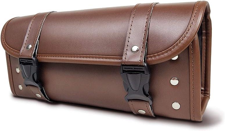 Wildken Motorrad Werkzeugtasche Werkzeugrolle Taschen Roll Pu Leder Wasserdicht Motorrad Sattel Taschen Für Harley Davidson Auto