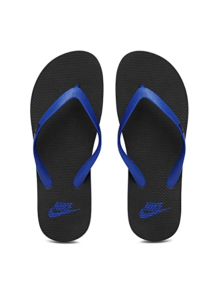 b1b3eeacd15 Nike Aquaswift Thong Black Slippers-Uk 11  Buy Online at Low Prices in India  - Amazon.in