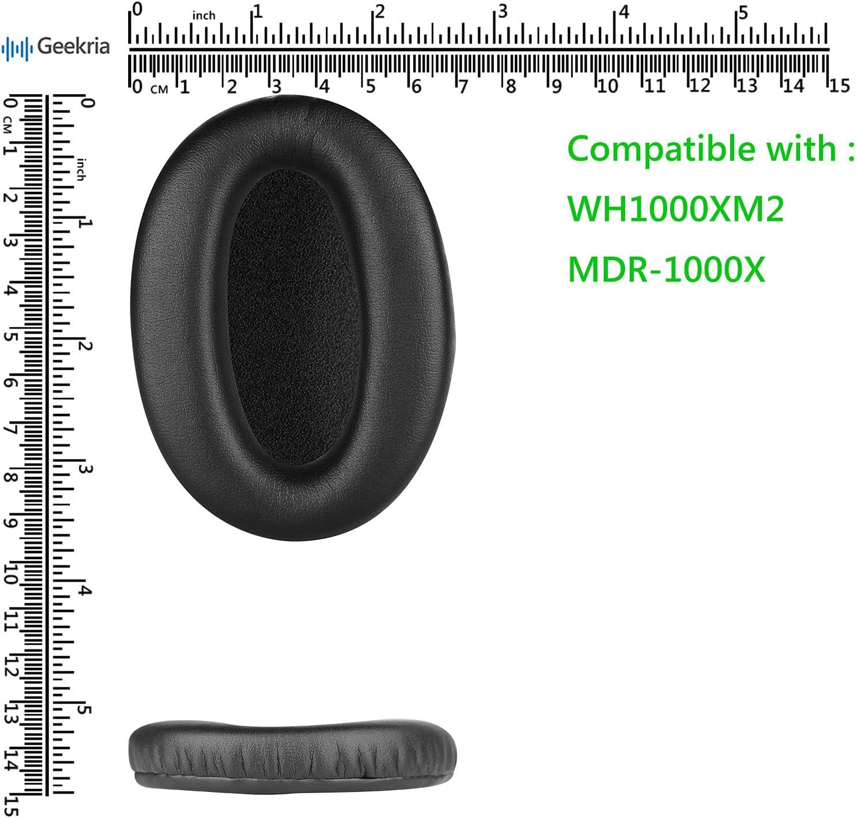 Yunyiyi 1/Paire de Remplacement Coussinets doreille Coussin Coussinets pour Sony Mdr-cd350/Mdr-cd450/Mdr-cd550/Casque