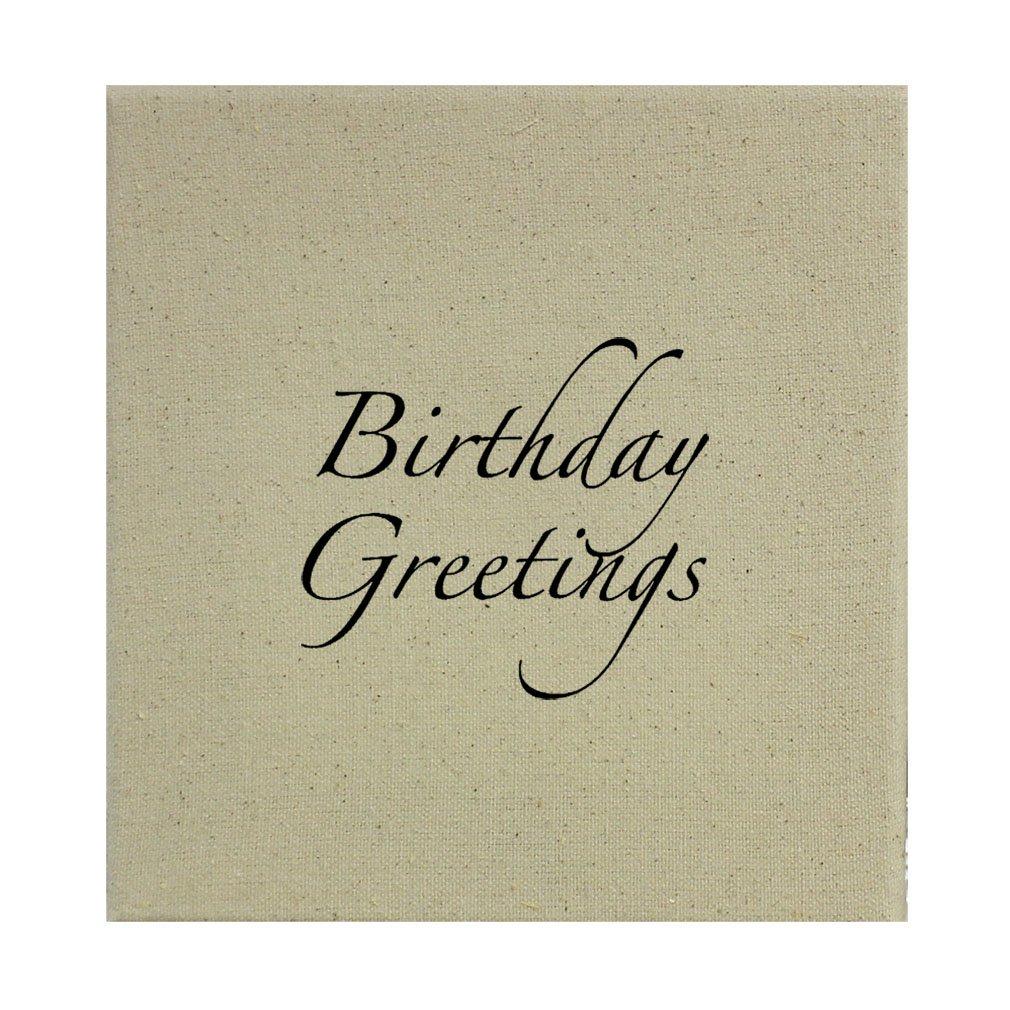 Amazon Style In Print Birthday Greetings Vintage Look 1