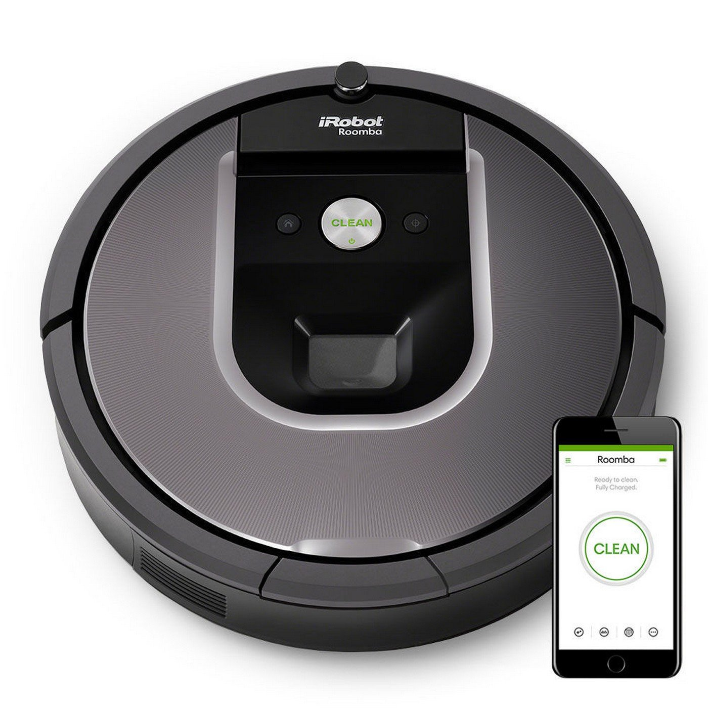 iRobot Roomba 960 Vacuum Cleaning Robot - Grey: Amazon.co.uk: DIY ...