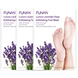 Foot Peel Mask 3 Pack, Peeling Away Calluses and Dead Skin Cell, Natural Exfoliator for Dry Dead Skin, Makes Your Feet…