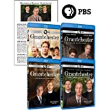 Masterpiece Mystery! Grantchester: Complete Series 1-4 Bluray Collection + Bonus Cast Guide