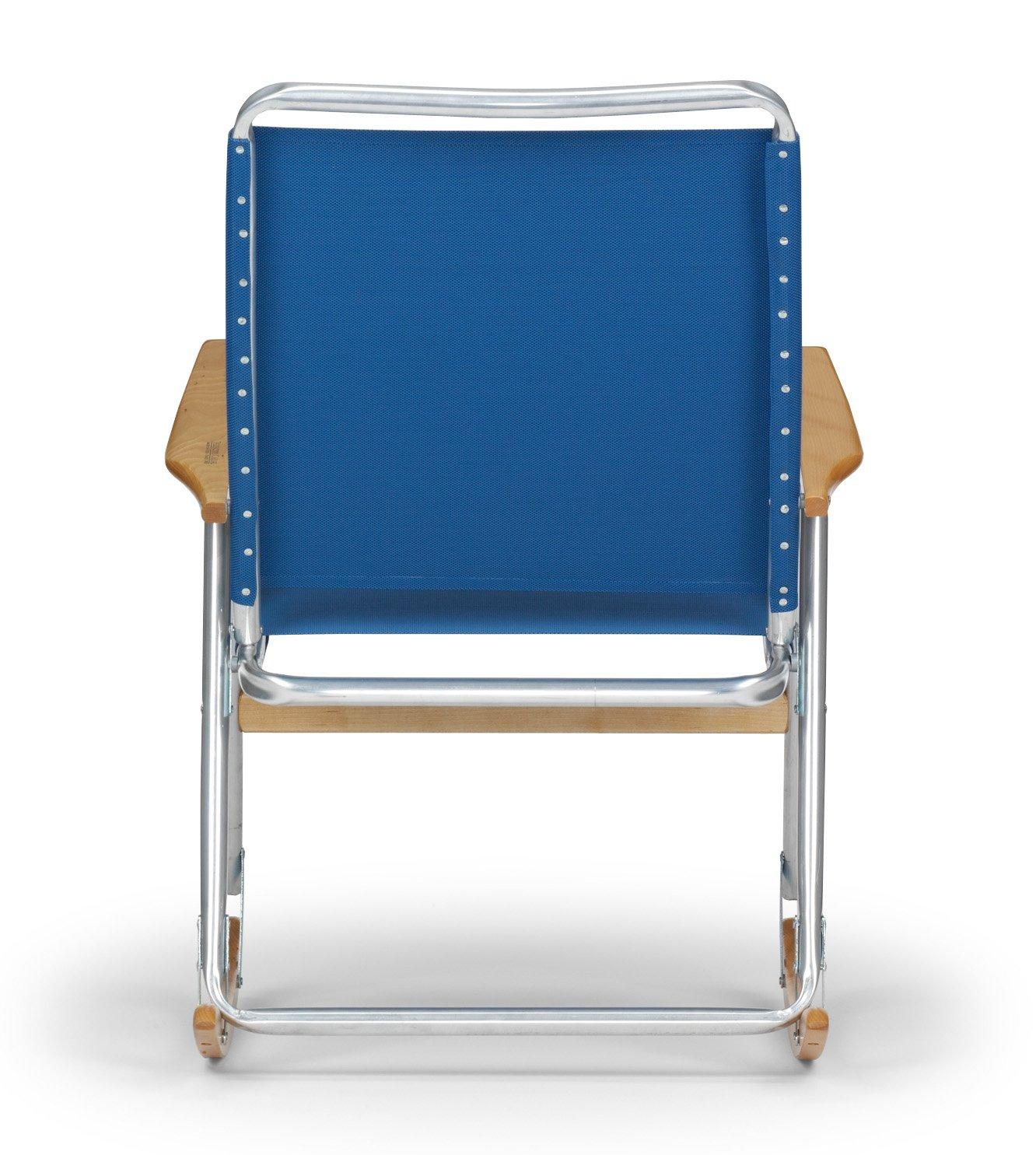 Amazon.com : Telescope Casual High Back Folding Rocking Arm Beach Chair,  Opal : Camping Chairs : Garden U0026 Outdoor