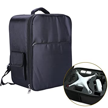 flycoo funda funda maletín de transporte Mochila para DJI Phantom 3 Standard Advance Professional Phantom 4 4 Pro Drone y accesorios: Amazon.es: Electrónica