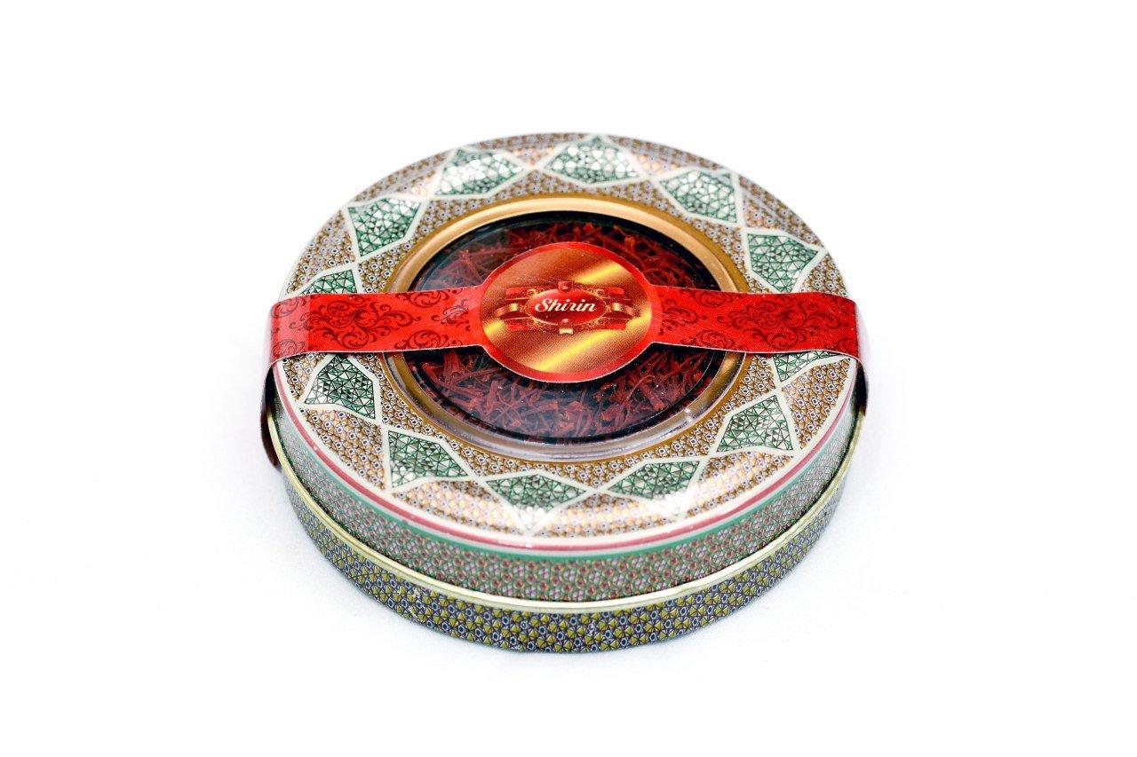 SHIRIN Saffron,Persian Pure & Natural,Premium Quality, Grade 1, All Red,2 Grams(0.07 OZ)
