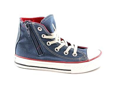Ct Converse Star Chaussures Bébés Zip Rouge All 643942c Marine Côté tshQrd