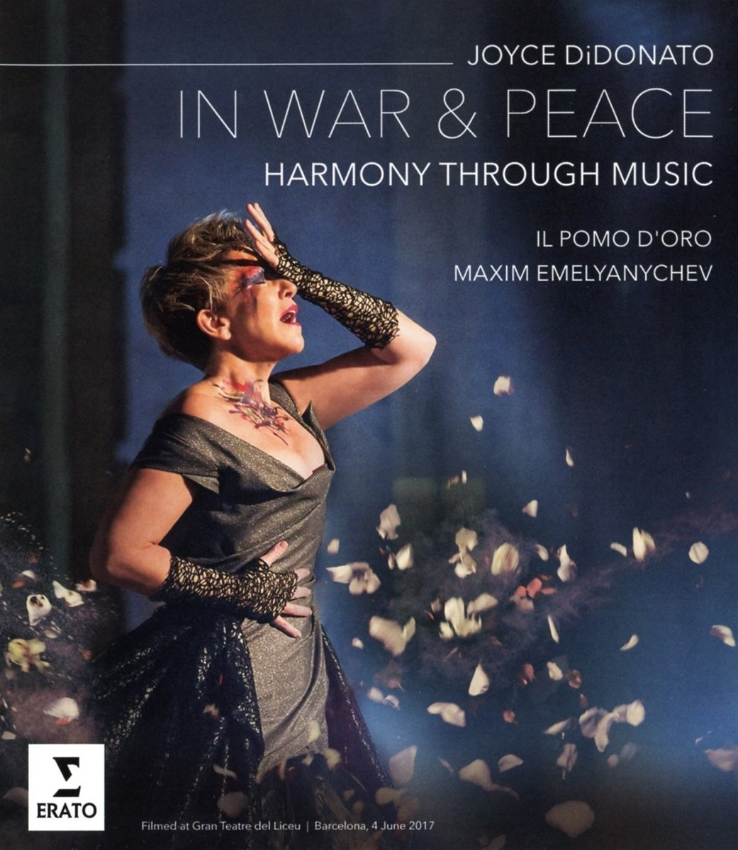 Blu-ray : Joyce DiDonato - In War And Peace - Harmony Through Music (Blu-ray)