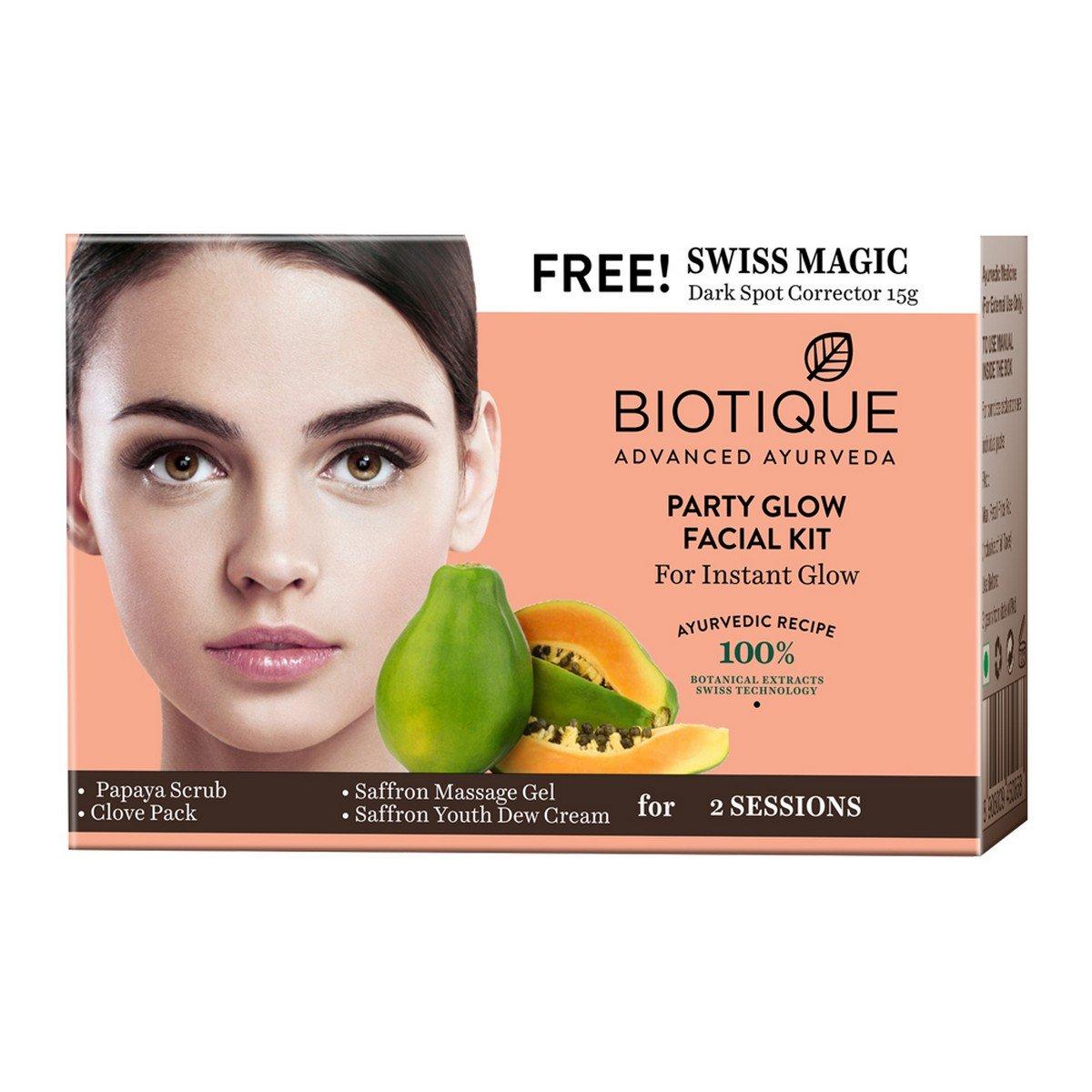 Biotique Party Glow Facial Kit