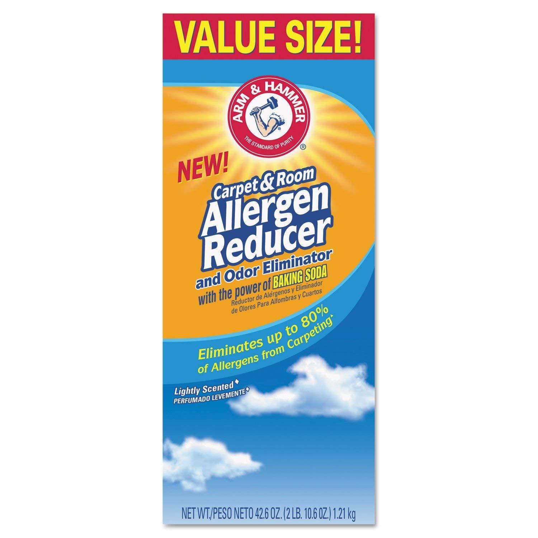 Arm and Hammer Carpet & Room Allergen Reducer and Odor Eliminator, 42.6 oz Box by Arm & Hammer