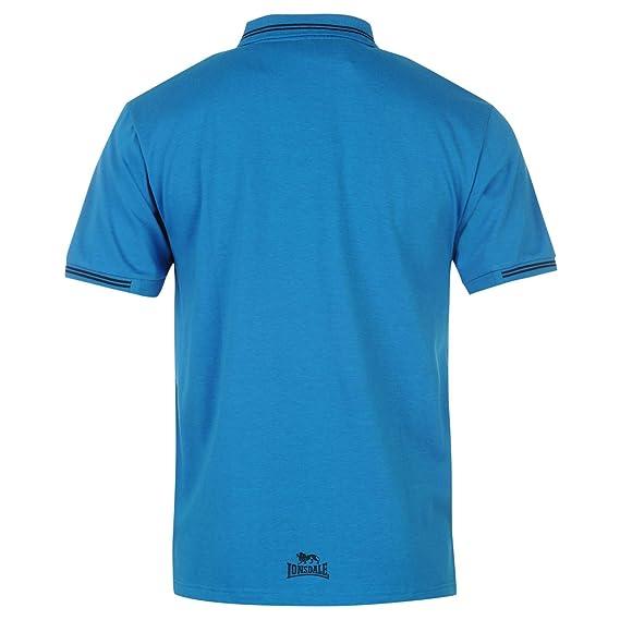 Lonsdale - Polo - para Hombre Azul/Azul Marino Small: Amazon.es ...