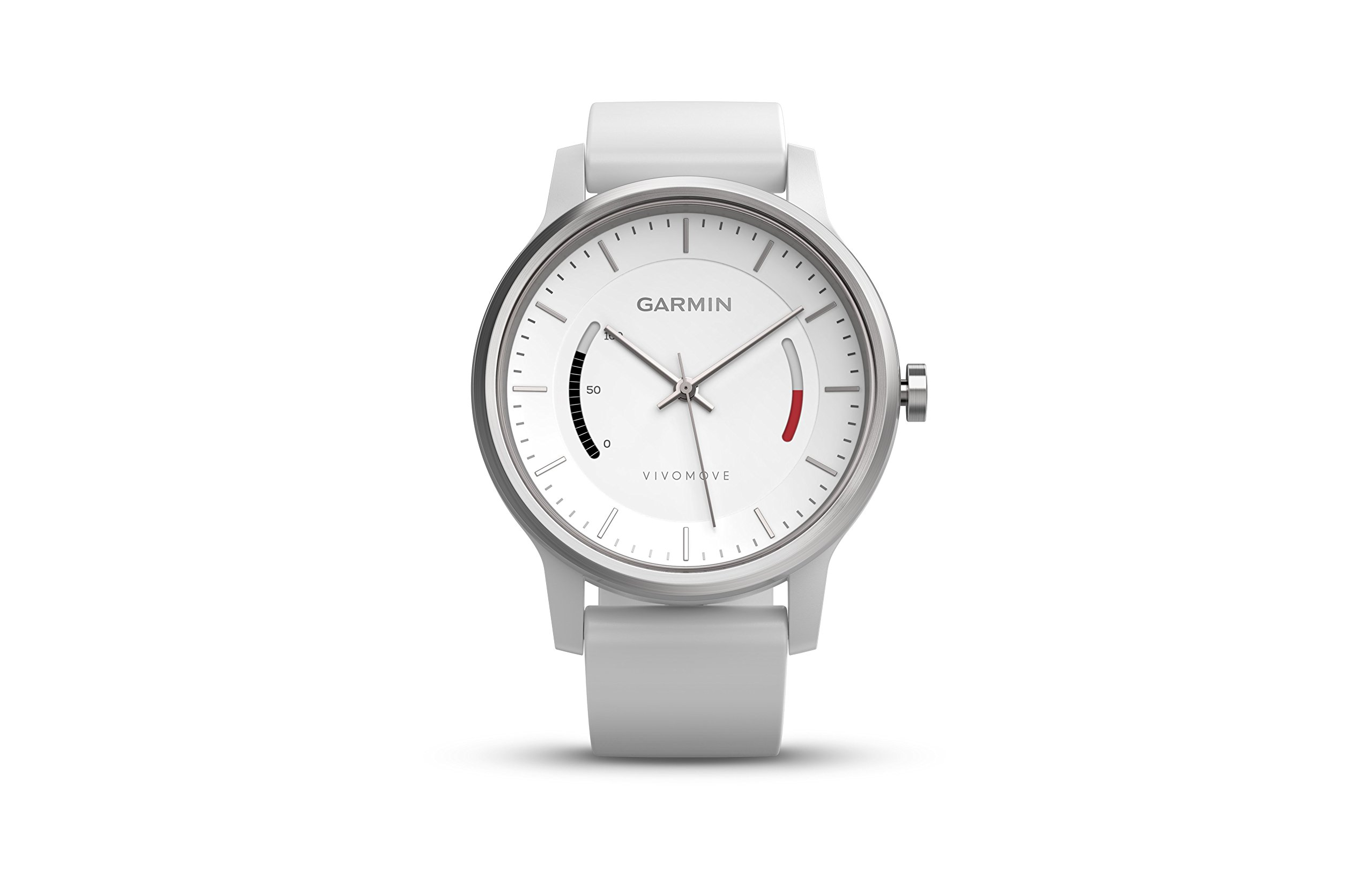 Garmin vívomove Sport - White with Sport Band by Garmin