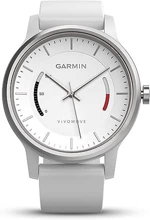 Garmin vivomove Sport NA White with Sport Band,Smartwatches