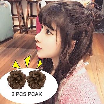 S Noilite 2pcs Promo The Latest Korean Messy Hair Bun