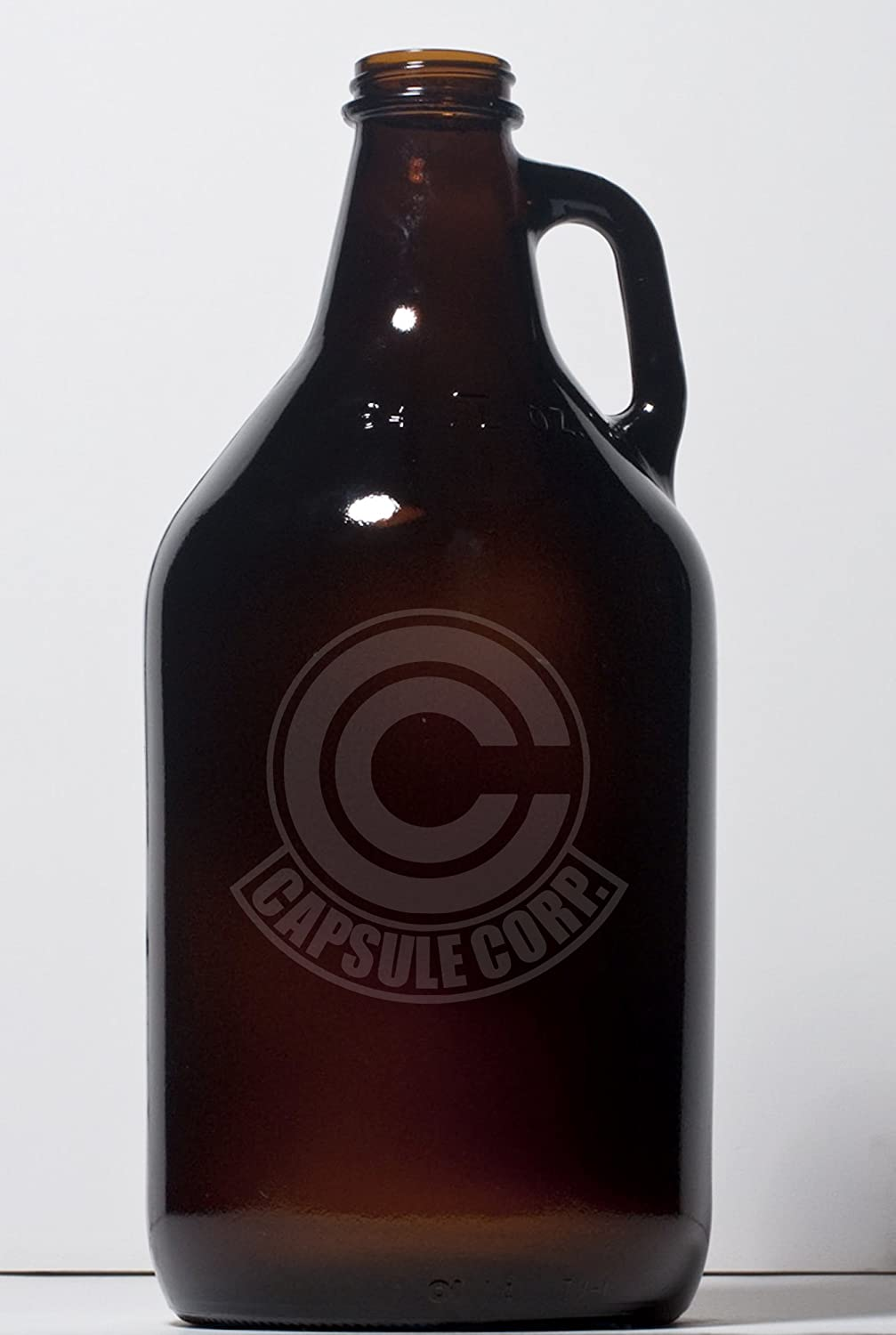 Capsule Corp - Dragonball Z - 64 Ounce Glass Beer Growler pallypants