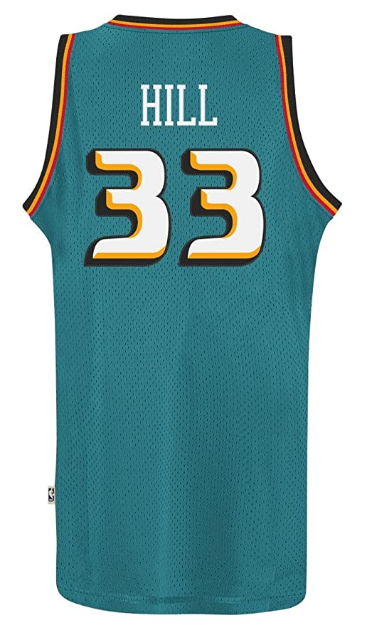 ... where to buy amazon grant hill detroit pistons adidas nba throwback  swingman jersey teal sports outdoors ... 2d0ce6eb5