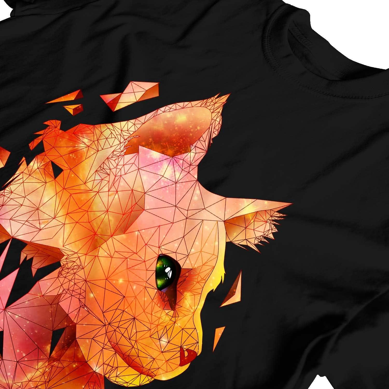 Colourful T-Shirt 1Tee Kids Boys Abstract Cat Head