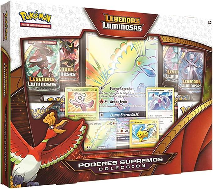 Pokemon JCC- Colección Poderes Supremos de Leyendas Luminosas (The Pokémon Company POGXPR01): Amazon.es: Juguetes y juegos