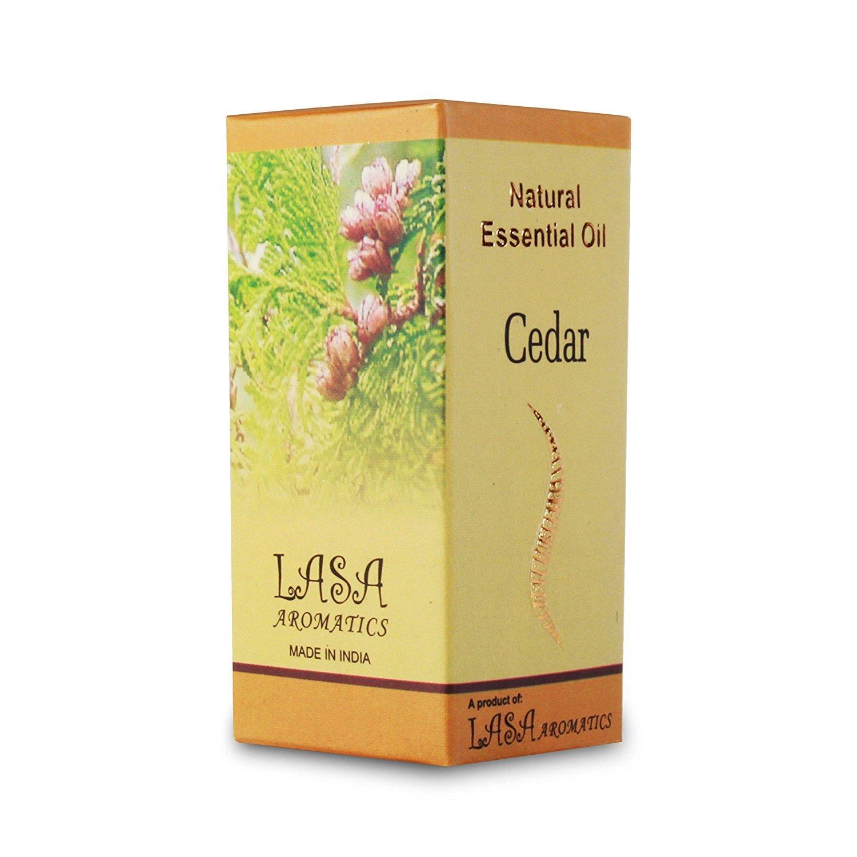 Lasa Aromatics Cedar Essential Oils 100% Pure And Natural - 10 ml