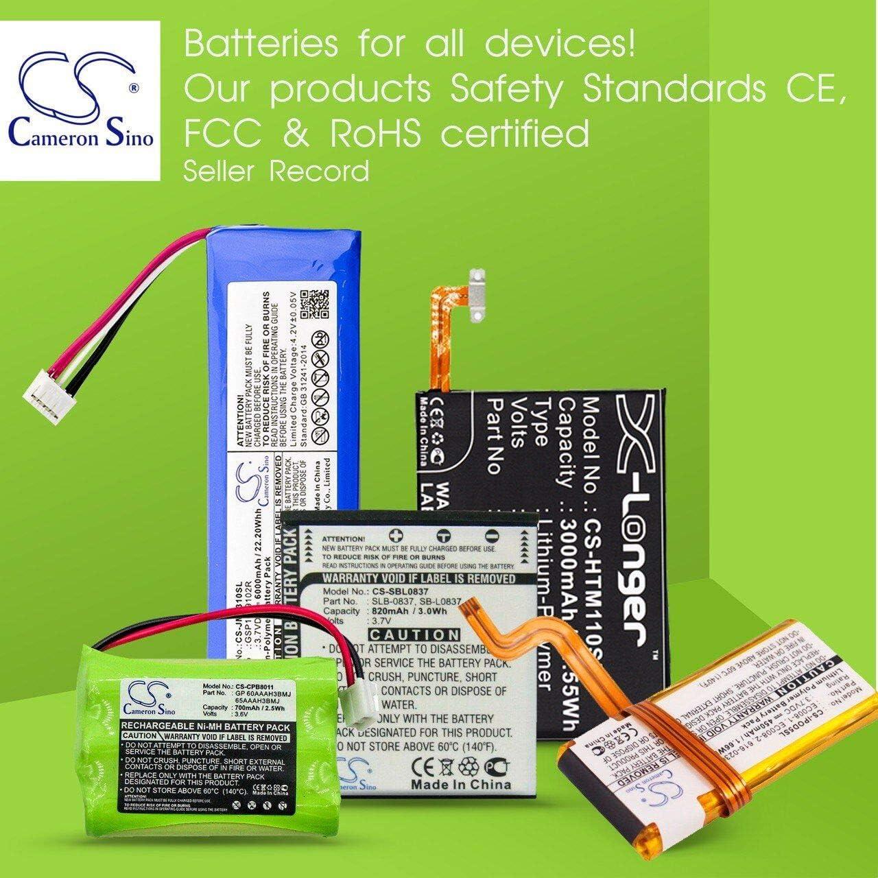 Replacement Battery For TOPCOM Babytalker 1010