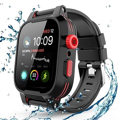 Amazon.com: Willbox - Funda impermeable para Apple Watch ...