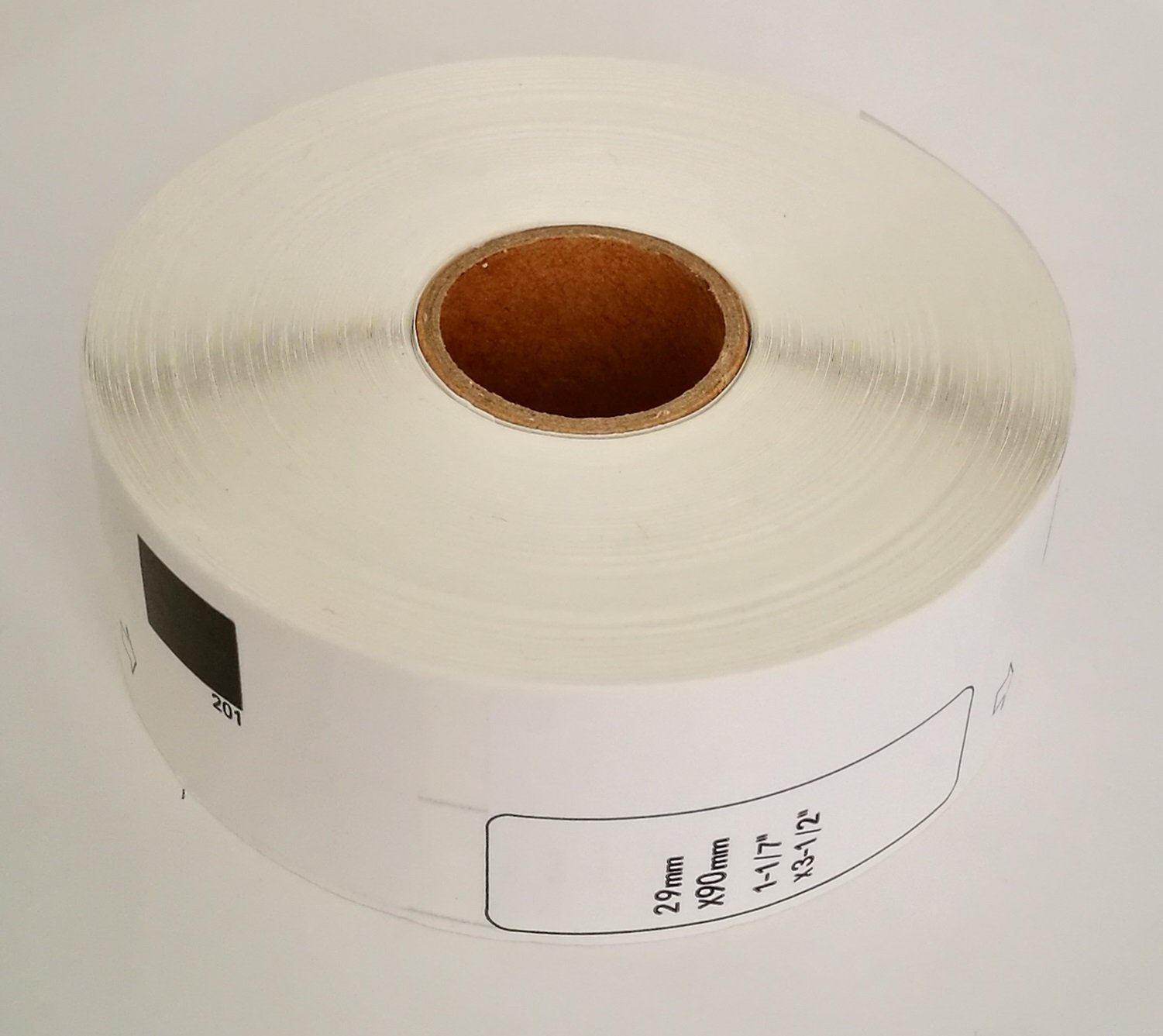 1 Roll Hydrapower Brother Compatible DK1201 Standard Address Paper Labels No Cartridge
