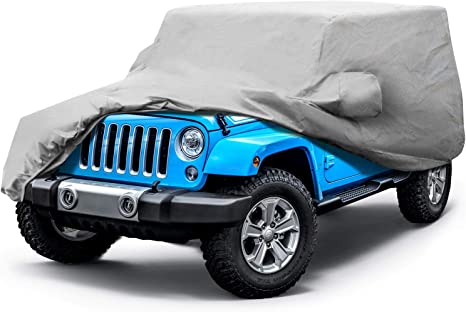 CoverMaster Gold Shield Car Cover for 1997-2006 Jeep Wrangler 5 Layer Waterproof TJ