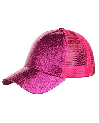 C.C - Gorra de béisbol - para Mujer Hot Pink Talla única  Amazon.es  Ropa y  accesorios 6a645b27842